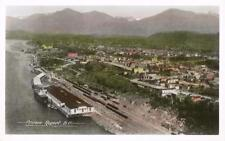 Postcard British Columbia Prince Rupert Aerial View RPPC Nr Mint Unused 50s