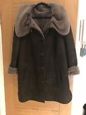Ladies Sheepskin Coat Size 16