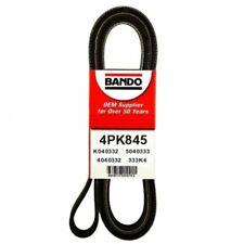 Serpentine Belt-Rib Ace Precision Engineered V-Ribbed Belt BANDO 4PK845