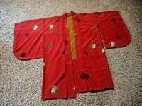 NEW Oriental Kimono Robe Kyoto Marubeni Co.Rust Lined One Size from Gaum