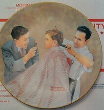 8 Norman Rockwell Plate American Family Series Collection Set Authenticity cards