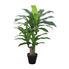 Artificial Potted Dracaena Dragon Tree - 90cm