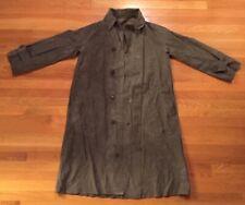 Rare Usmc 1954 Marathon Rubber Co Military Raincoat Medium
