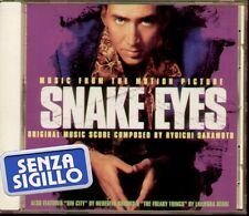 """THE ORIGINAL SOUNDTRACK """" SNAKE EYES """" CD NUOVO 1998"""