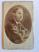 Victorian Carte De Visite CDV Photo - Asher - Edinburgh - Gent Named