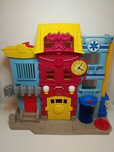 Fisher Price Imaginext Rescue City Center Fire Station - No Accessories