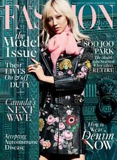 FASHION MAGAZINE APRIL 2016 THE MODEL ISSUE SOO JOO PARK COVER BRAND NEW