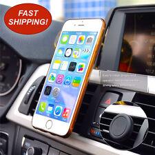 Car Mount Holder 360 Magnetic Air Vent Phone Holder Samsung GPS iPhone 5, 6, 7