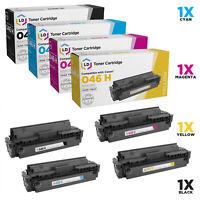 LD COMP Canon 046H Toner 4PK: 1254C001 BK, 1253C001 C, 1252C001 M & 1251C001 Y