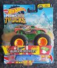 Hot Wheels Monster Trucks 2021 Burger Delivery 27/75 FYJ44  Fast Foodie 1/6