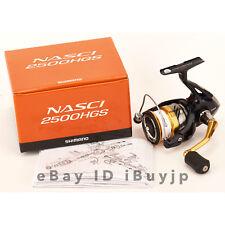Shimano 16 NASCI 2500HGS Saltwater Spinning Reel 035714