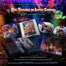 Big Trouble In Little China - 2 x CD Complete - Limited 3000 - John Carpenter