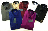 Original Sealed New Arrow Men's Dress Shirts Long sleeves Regular Fit Color