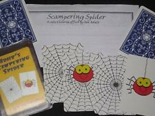 Scampering Spider by Adair - A Cute Close-Up Packet Trick! - Where Does It Go?