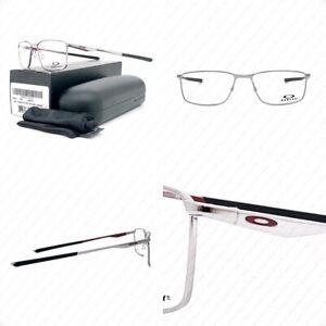Authentic Oakley Socket 5.0 OX3217-0955 Gunmetal Cardinal w/Demo 55-17-136mm