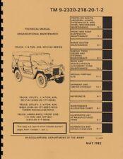 TM9-2320-218-20-1-2 ~ M151A2 Mutt ~ Org Maint Manual ~ Volume 2 ~ 1982 ~ Reprnt