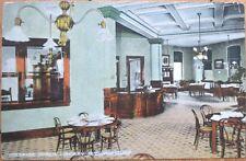 1910 Bucyrus, OH Postcard: Public Library Interior - Ohio