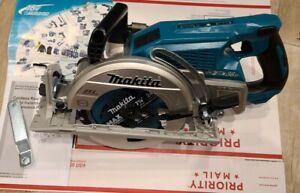 MAKITA 18V X2 (36V) LXT Brushless Cordless Rear Handle 7‑1/4 Circular Saw XSR01