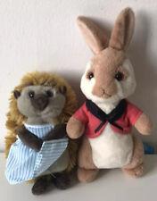 Bundle of Beatrix Potter: Peter Rabbit Teddies TY Flopsy Mrs Tiggy Winkle (2018)
