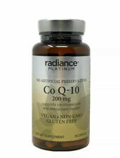 Radiance Platinum Co Q-10 200 mg 30 Capsules Exp 10/20+