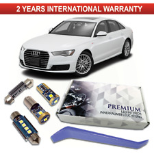 Audi A6 C7 4G LED Premium Interior Full Kit 14 White Error S6 RS6 CANBUS
