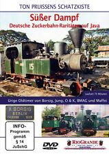 Rio Grande DVD 3505 - Süßer Dampf - Deutsche Zuckerbahn-Raritäten auf Java