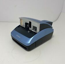 New listing Polaroid One600 Instant Camera Blue 100mm Lens Focus Range 3 Ft to Infinity