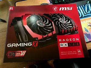 MSI Radeon RX 580 GDDR5 8GB CrossFire VR Ready DirectX 12 GAMING X Graphics Card