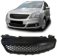 No logo grill For Zafira B MK2 05-09 OPC DEBADGED BADGELESS GRILLE Front hood