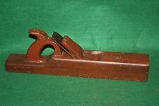 FINE Antique Shipbuilders Lignum Vitae Razee Woodworking Fore Plane INV#LV79