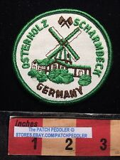DUTCH WINDMILL GERMANY OSTERHOLZ SCHARMBECK JACKET PATCH EMBLEM 63LL