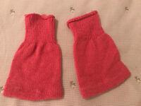 "Vintage Playmates ""CRICKET"" Pink leg warmers"