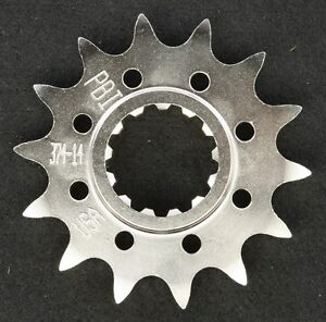PBI - 374-14 -  Front Countershaft Sprocket, 14T - Made In USA