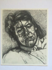 LUCIAN FREUD, promotional card, 2016