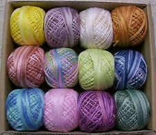 Valdani thread 3 strand floss Pastels collection.