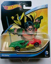 Hot Wheels ROBIN BATMAN DC COMICS Batmobile SuperHeroes - Edit.Exclusive Limit
