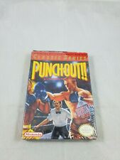 Punch-Out (Nintendo Entertainment System, 1990) Complete in Box CIB