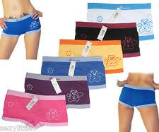 6 Pack Seamless Teddy Bear Boyshorts Underwear Lot Booty Panties Boxer Brief