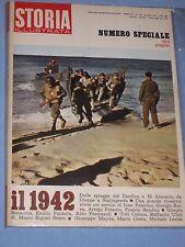 STORIA ILLUSTRATA -  n° 172 Marzo  1972 - Il 1942 (N1)
