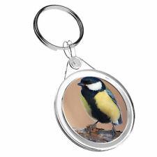 1 X Awesome Great Tit Bird Watcher - Keyring IR02 Mum Dad Birthday Gift #16221