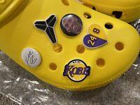 5  Kobe Bryant Shoe Charms For Crocs!