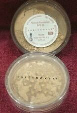 ONE 1x NEW Sheer Cover Mineral Foundation NUDE SPF15 Powder .14 oz 4g SEALED HTF