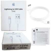 NEW Apple Genuine Original Lightning to USB Charger Cable for iPhone 7/6/Plus/5