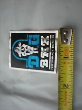 Old School Vintage BMX DG prism decal from the 1980's not a repop item