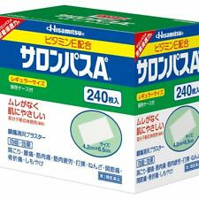 HISAMITSU SALONPAS Ae Pain Relieving Patch, 240 Patches (Regular Size) w/Tracki#