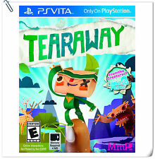 PSV Tearaway Sony PlayStatio​n VITA Sony Computer Entertainment SCE Action