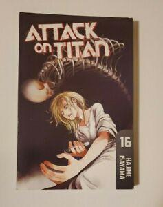 Attack On Titan 16 by Hajime Isayama Paperback