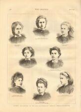 Antique (Pre - 1900) Open Edition Print Topographical Art Prints