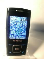 Samsung SGH E900 - Black (Unlocked) Mobile Phone - Crack to screen lens