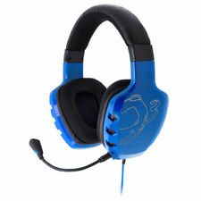 Auriculares azul diadema para ordenadores